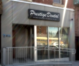 Prestige Dental Store Front